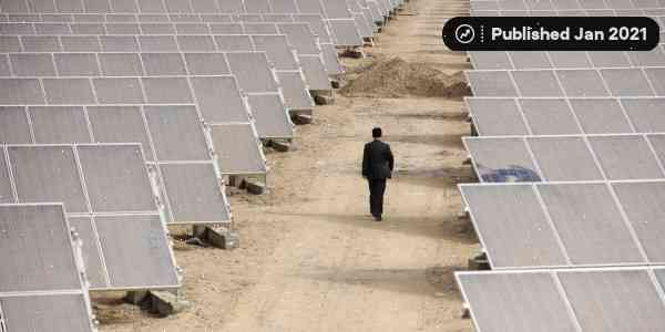 Chinese women in Xinjiang are making solar panels for China