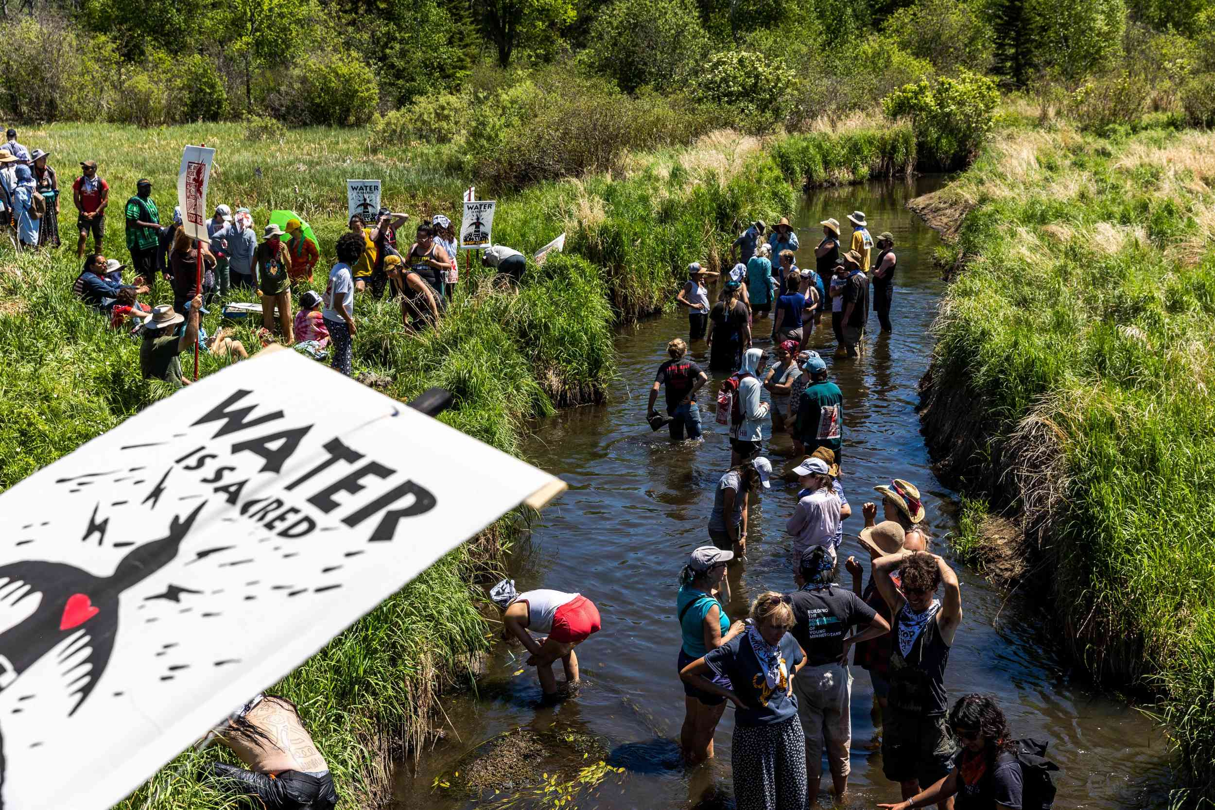 Native Americans sue Exxon over 'human rights violations' on their land