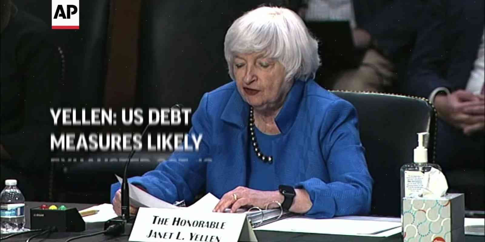 Yellen: US may have to borrow more to balance debt